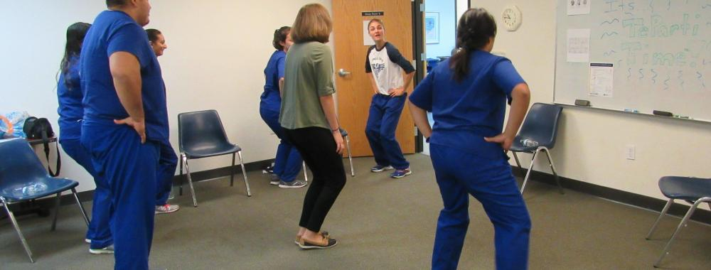 Exercise Class at clinic