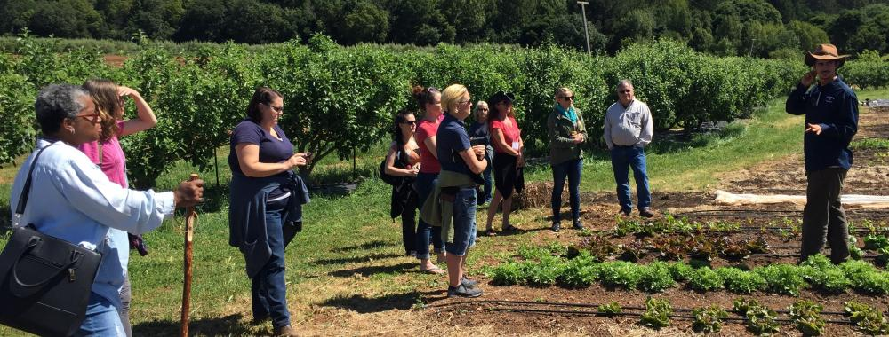 Farm Visit with FVC