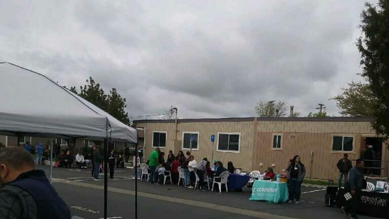 Migrant Center Health Fair